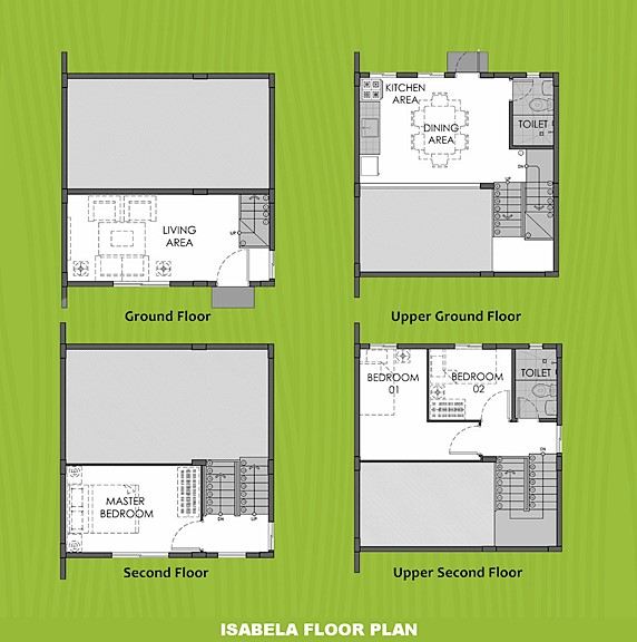 Isabela Floor Plan House and Lot in Cebu