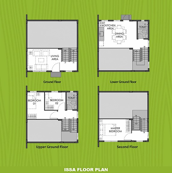 Issa Floor Plan House and Lot in Cebu