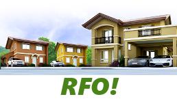 RFO Units for Sale in Camella Cebu.