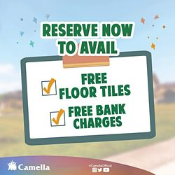 Promo for Camella Cebu.
